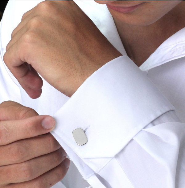 how to wear cufflinks.