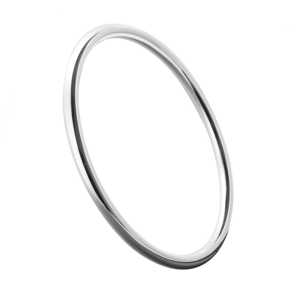 silver bangle number one