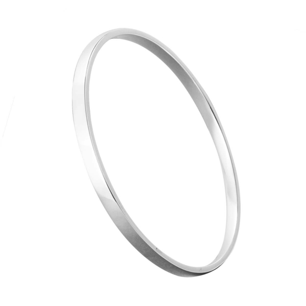 Silver bangle number 3