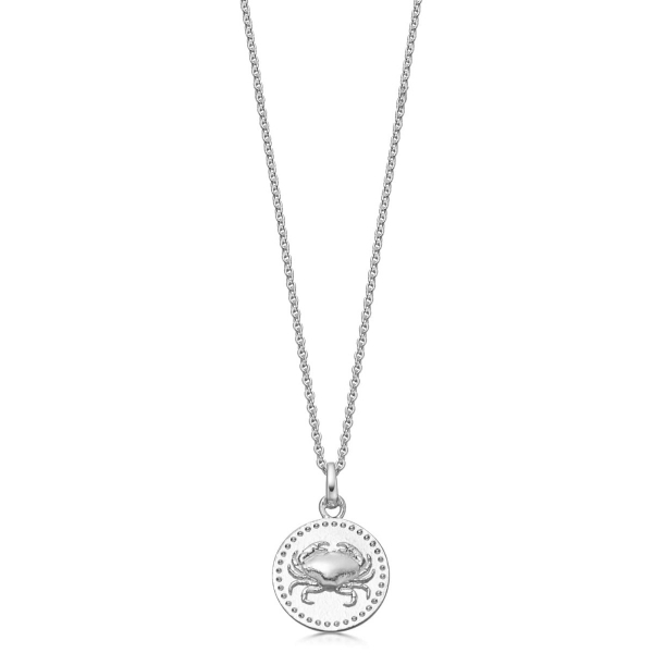 Sterling Silver Cancer Pendant