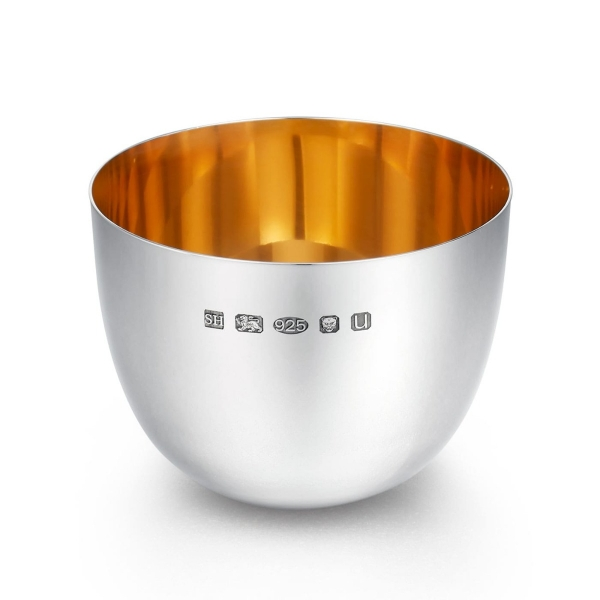 Large Silver Tumbler Cup
