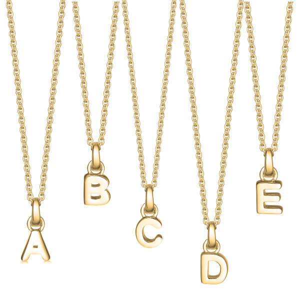 Gold Plated initials