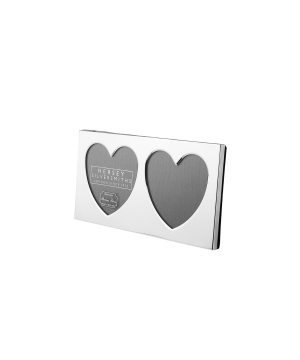 Sterling silver heart photo frame