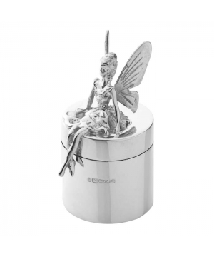 Silver Fairy First Tooth Box