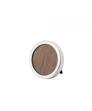 Small Round Silver Photograph Frame