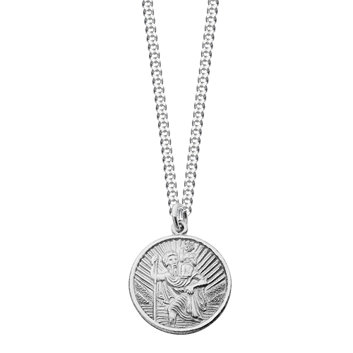 f5484ba42eb41 Silver St Christophers | St Christopher Necklaces