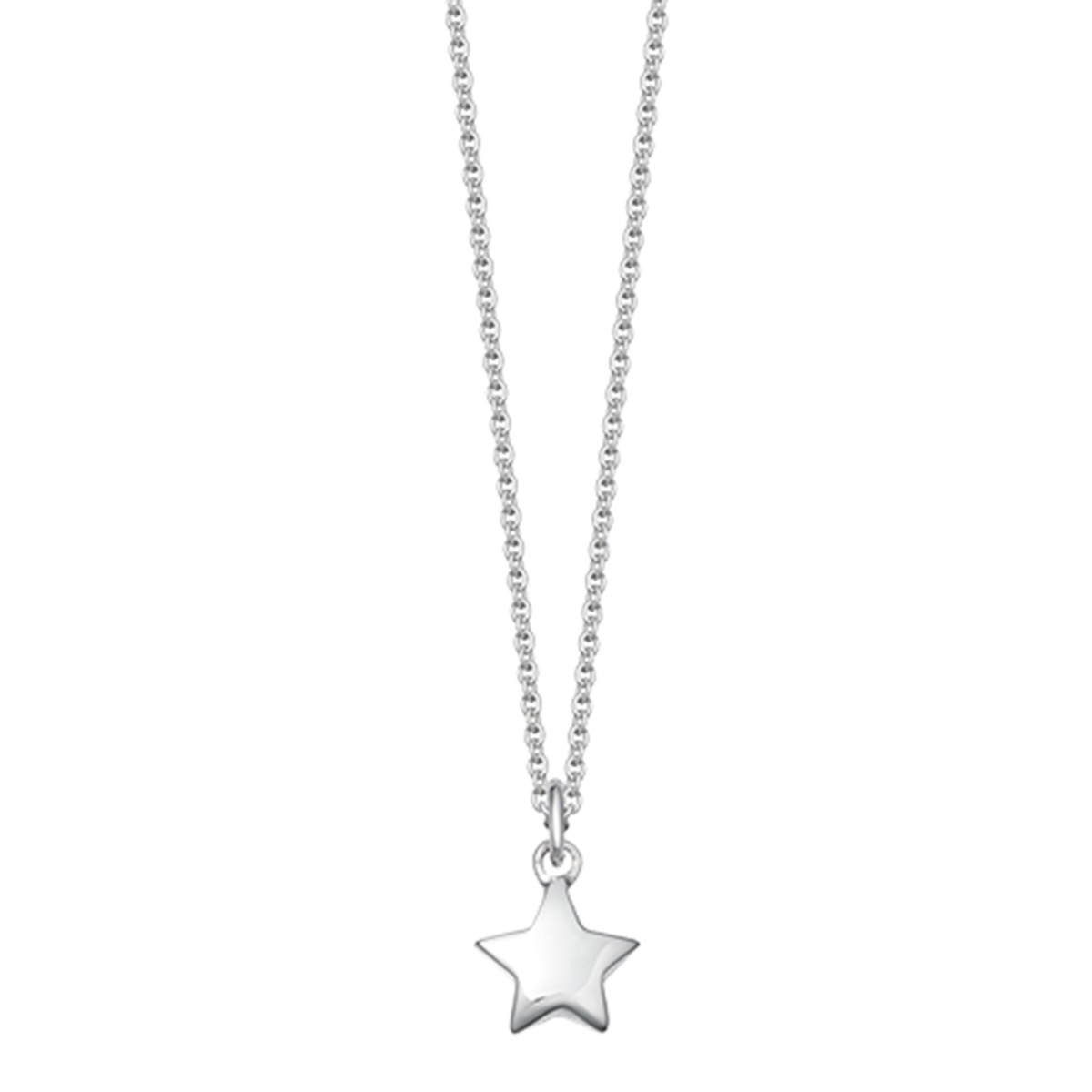240bbd0ce Silver Star Pendant Necklace | Hersey & Son Silversmiths
